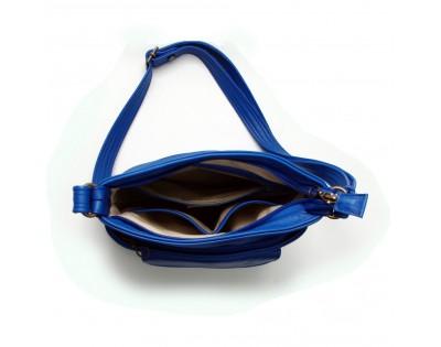 Sac bandoulière Composition: Cuir Vachette Doublure: Textile Dimensions : - hauteur 23 cm - largeur 24,5 cm - épaisseur