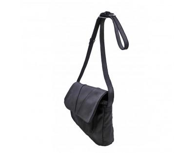 SAC A RABAT PORTE TRAVERS ou EPAULE Composition : CUIR Vachette scintillant Doublure : textile Dimension : largeur 28 cm