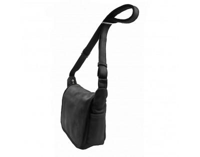 SAC GIBECIERE  Composition CUIR Eco-responsable Doublure : textile  Dimensions : -hauteur 22 cm -largeur 28 cm -épais